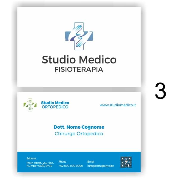 biglietti da visita medico 3